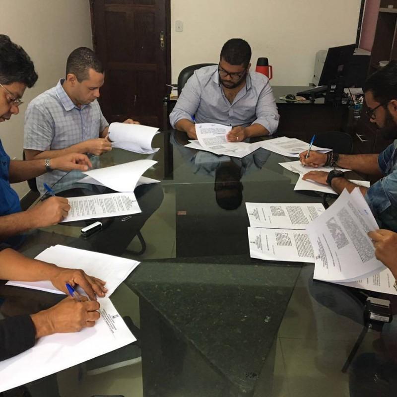 SESAU assina convênios de estágio