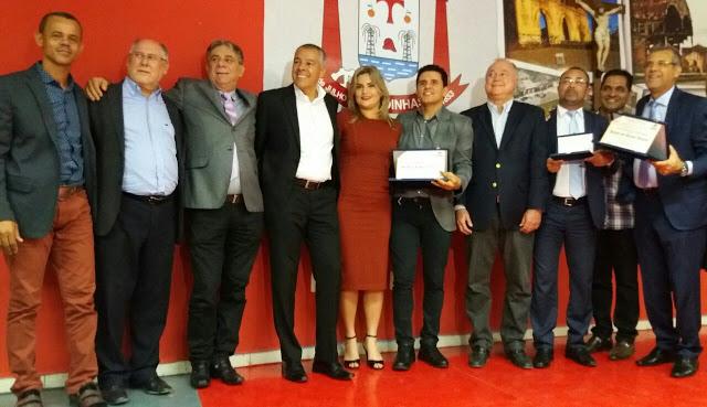 cidadão alagoinhense a Renato Almeida e Del Feliz